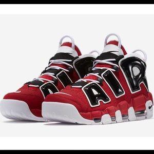 Nike Air More Uptempo 'Bulls' Men's Size 9.5